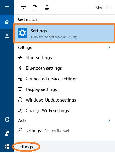 How to Open Windows Settings in Windows 10 using Cortana