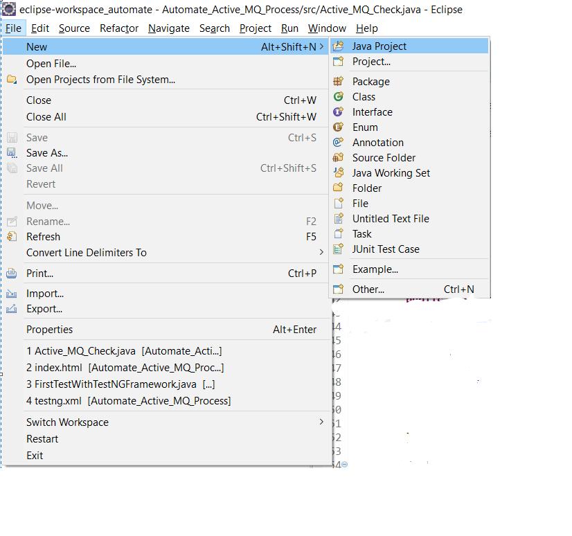 Description: Selenium Java Guide Step 5