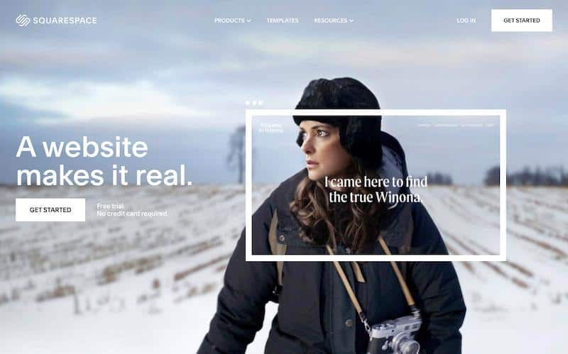 Squarespace Shopify Competitor