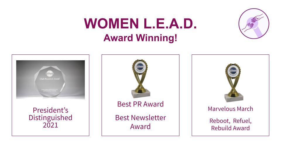 appreciation event, Women L.E.A.D. Appreciation Event