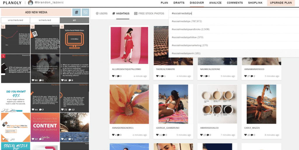 How to Use Planoly to Auto-Post on Instagram Discover Tab Planoly Photo