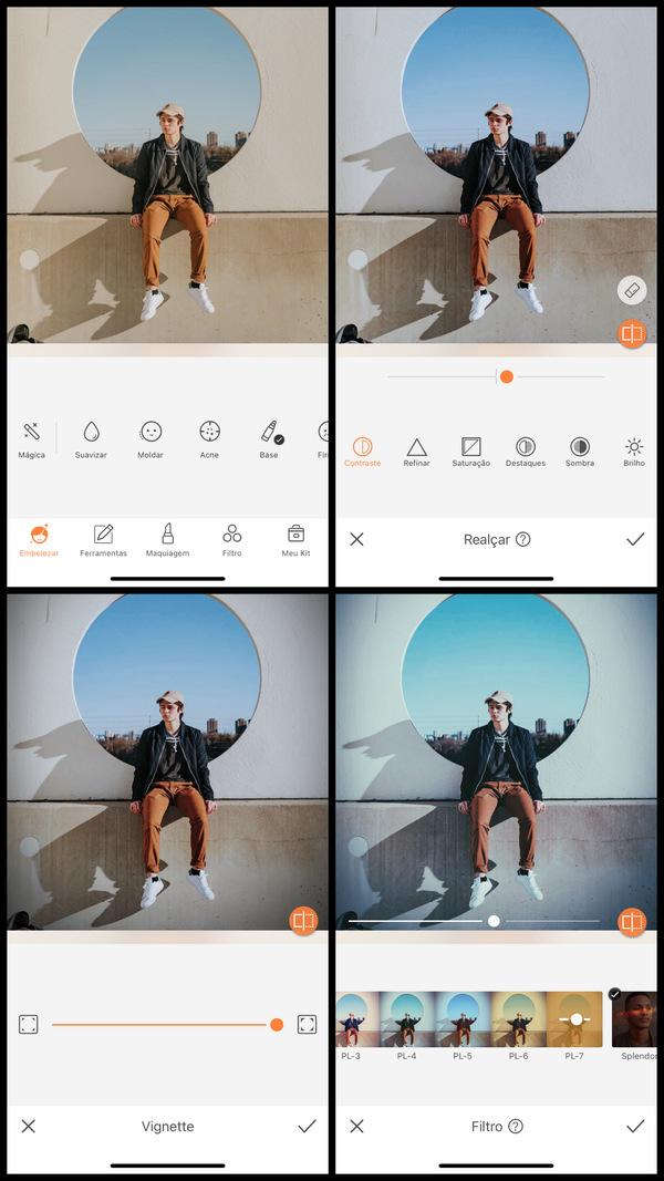 Tutorial de edição inspirada no clipe Adore You do Harry Styles usando as ferramentas do AirBrush