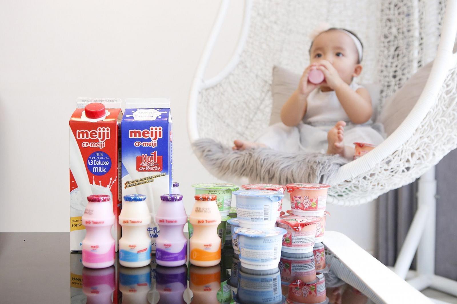 Meiji là thương hiệu nổi tiếng của Nhật Bảnchuyên sản xuất các sản phẩm về sữa