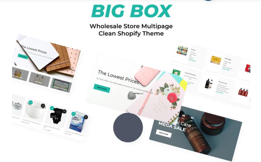 Shopify wholesale theme