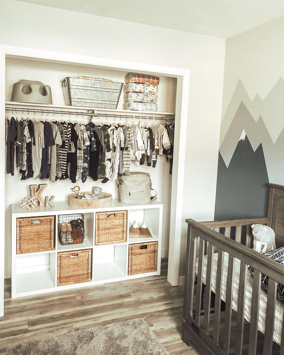 Remove Nursery Closet Doors for More Space
