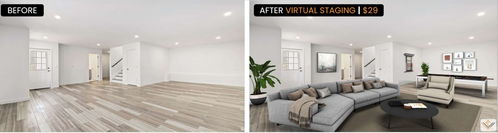 Virtual Home Staging Software VRX Staging