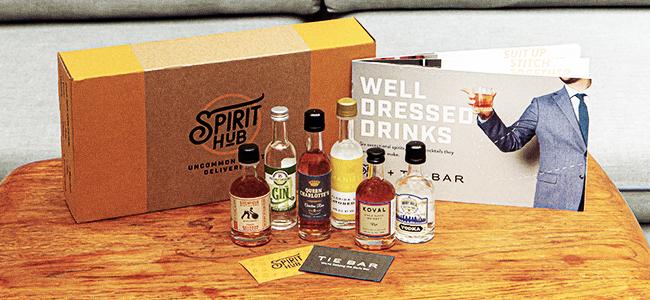 Spirit Hub x Tie Bar Spirit Box