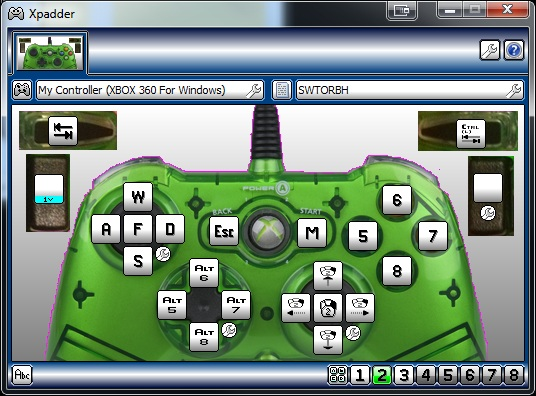how to set up xpadder for xbox 360 controller