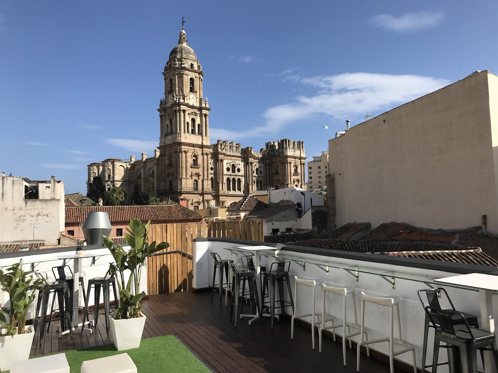 7 Must See Rooftop Terraces Of Malaga Tefl In Spain