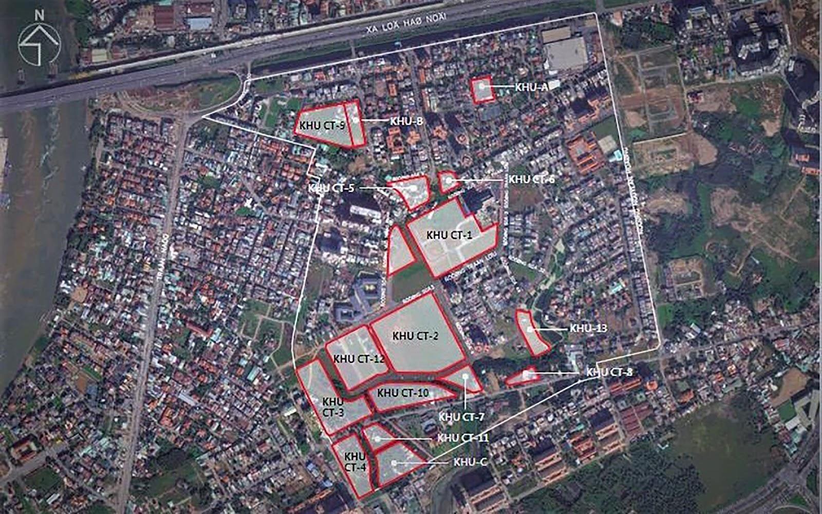 vị trí dự án laimian city quận 2