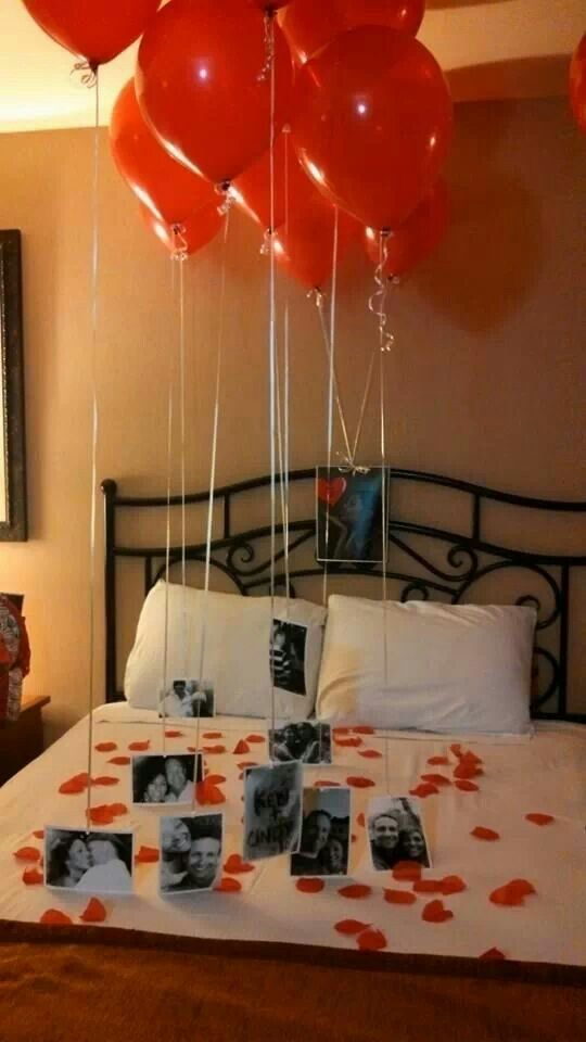 Got this idea from pinterest and did it for my husband to surprise him for Valentine's...he totally loved it!!!! He was so happy with all our pictures and remembering all the good times we have spent together.:
