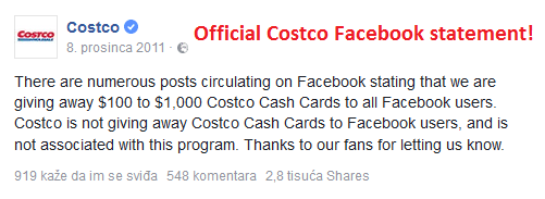 current Facebook Scams