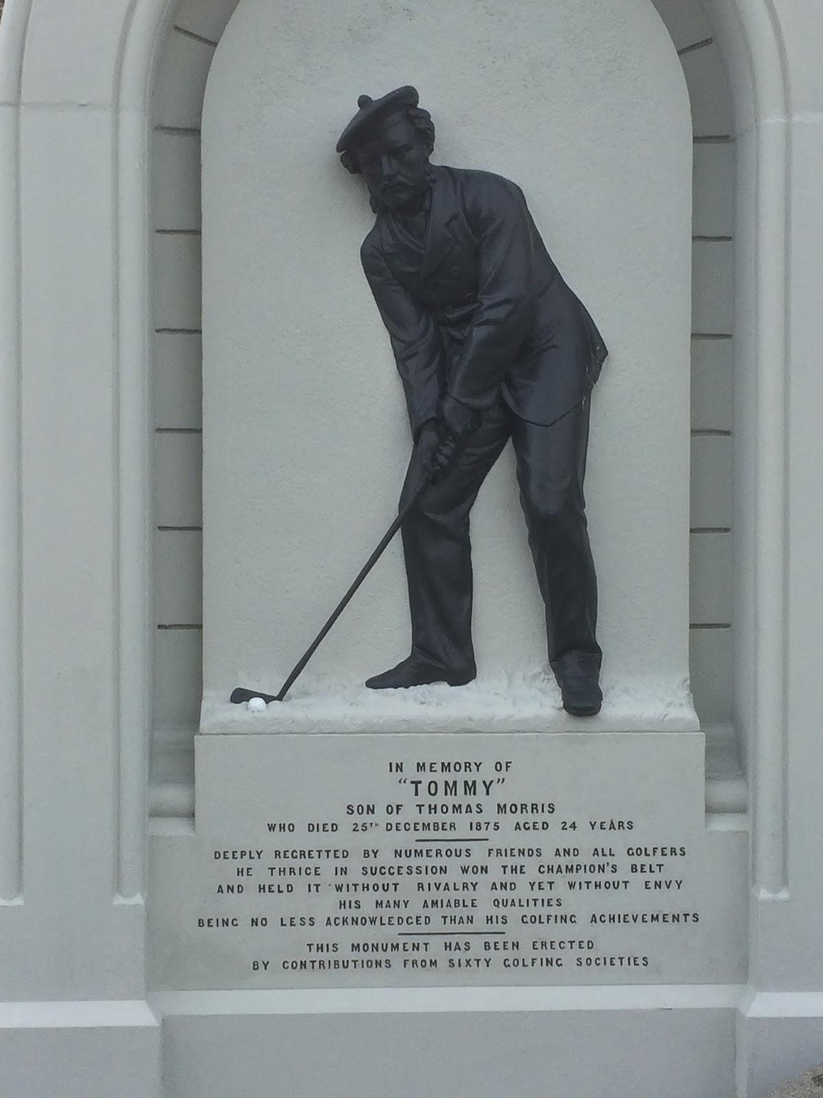 Old Tom Morris grave in St Andrews