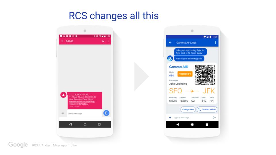 RCS/Advanced Messaging Carrier Support