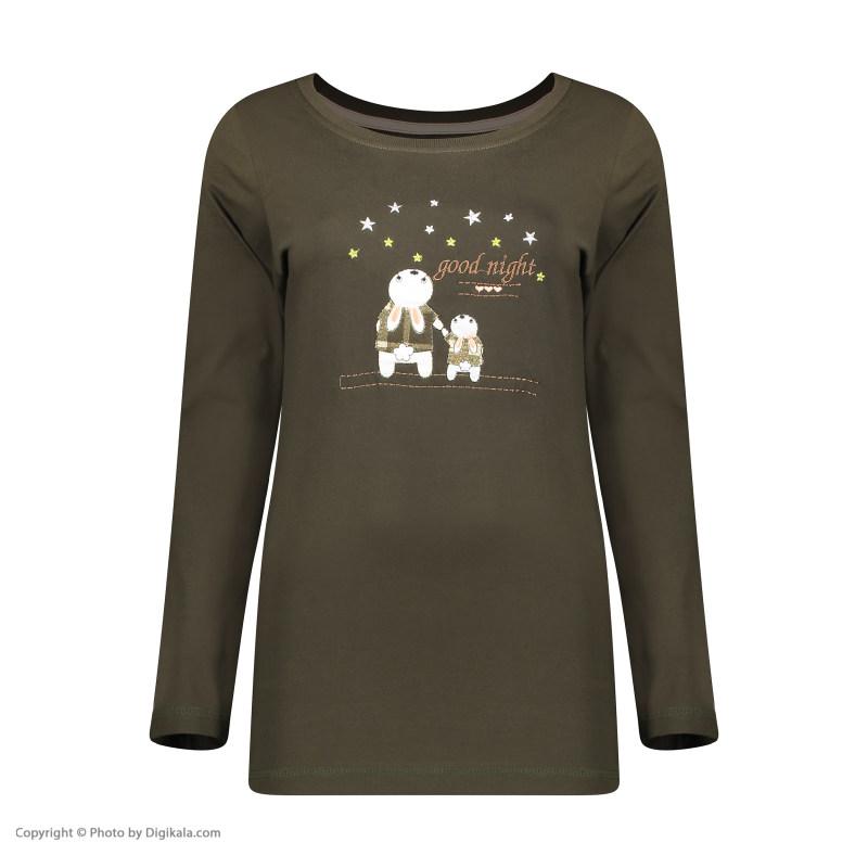 ست تی شرت و شلوار راحتی زنانه ناربن مدل 1521283-49
