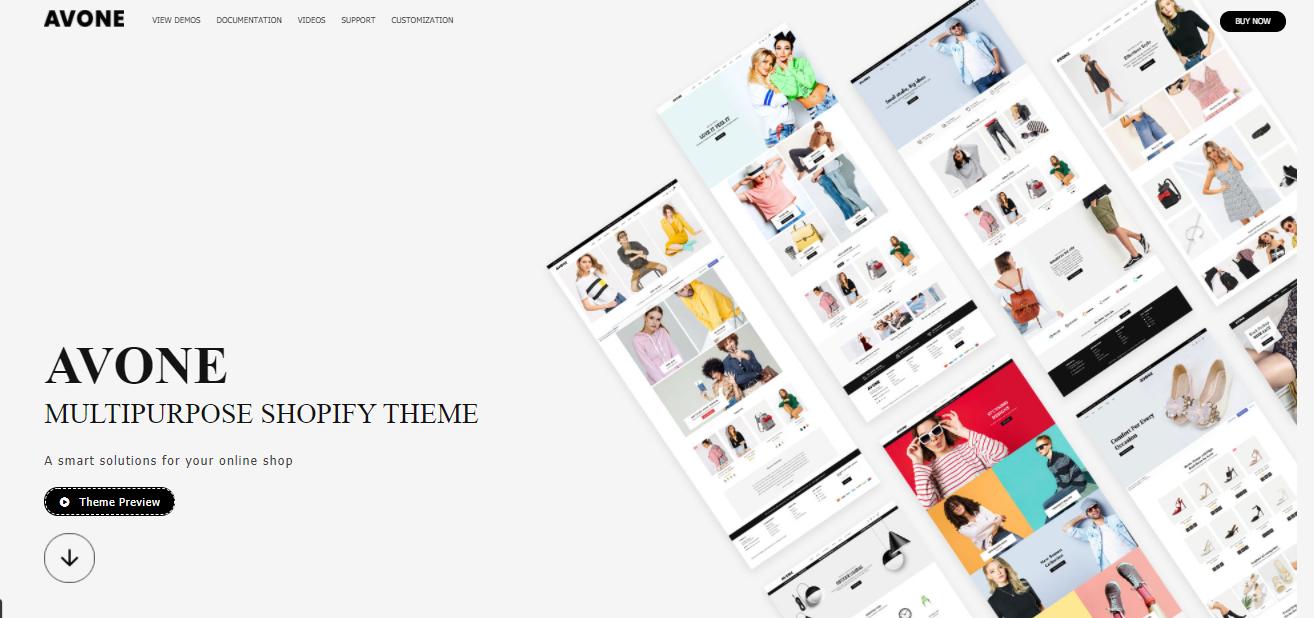 Avone  - Shopify beauty theme