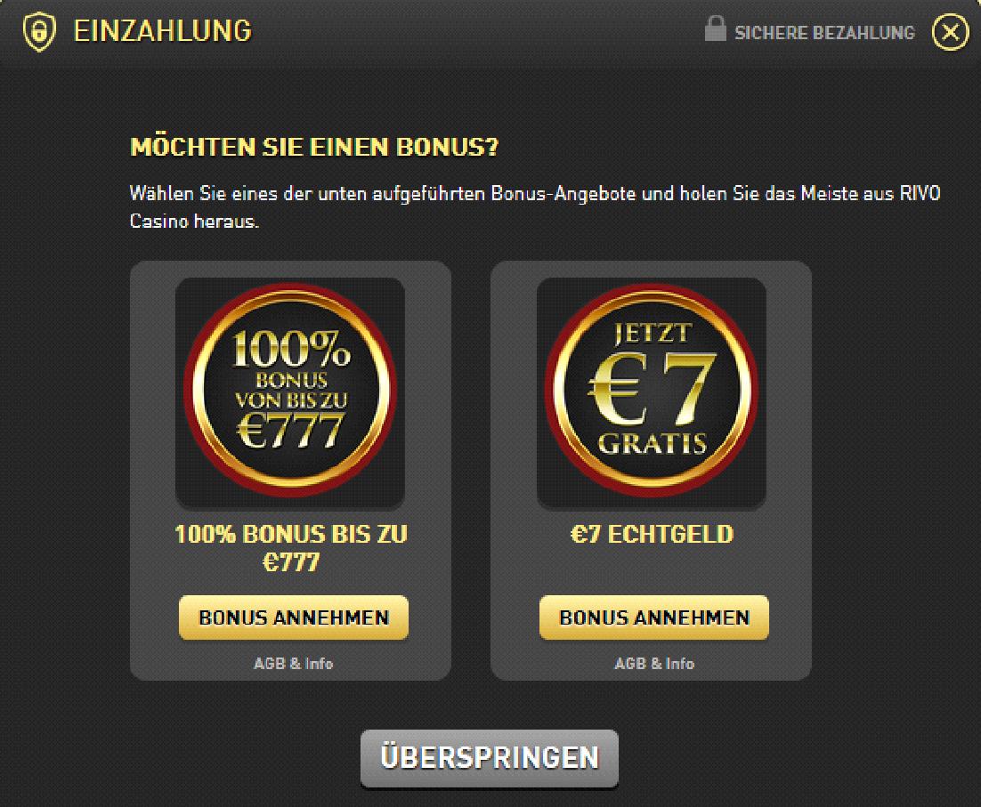 casino 1 bonuscode