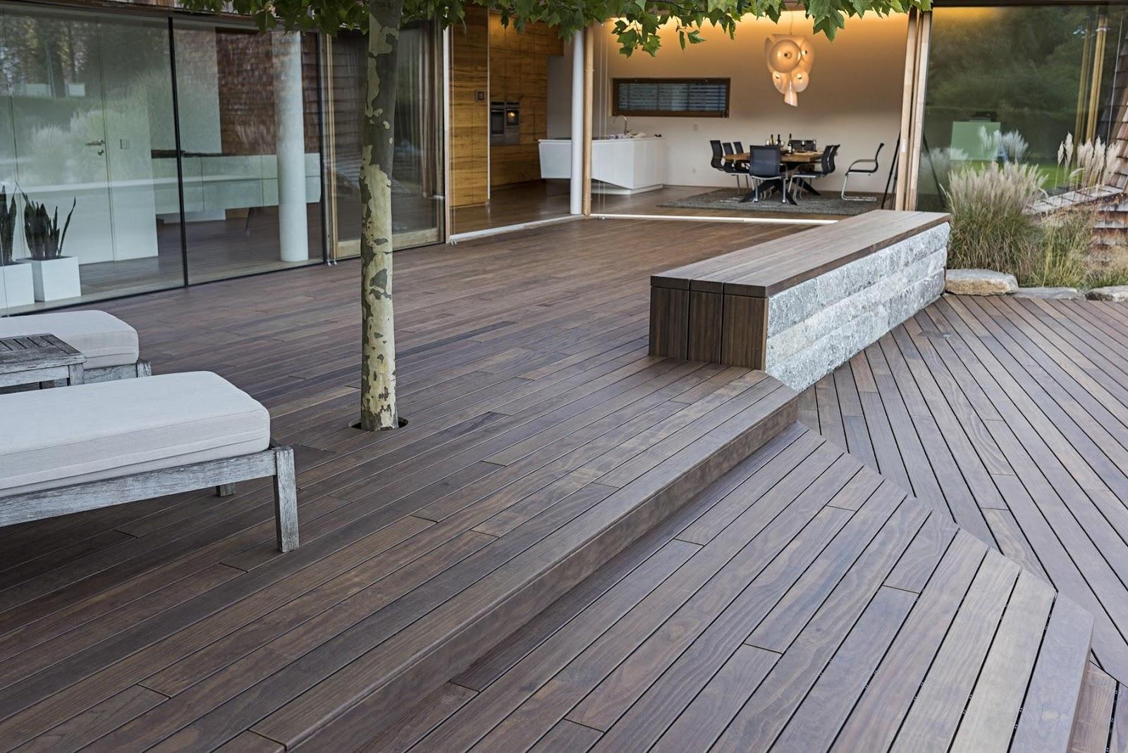 holz terrasse, die pflegeleichte holzterrasse, Design ideen