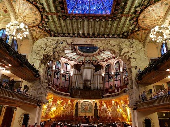 Ver Interior del Palau de la música