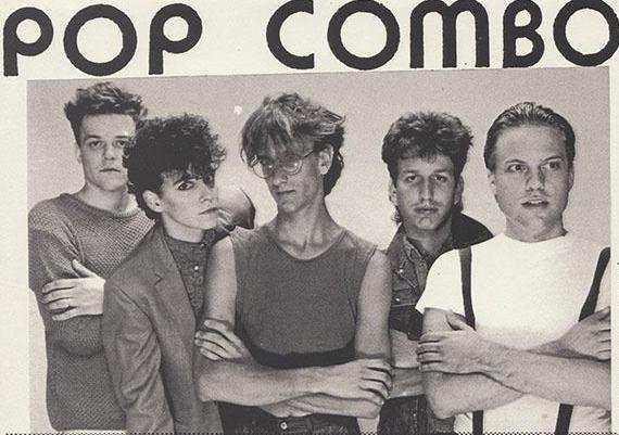 Ray Ganucheau, Lenny Zenith, Gary Parky, Steven Fisher, and Bruce Blaylock - Pop Combo lineup 80s
