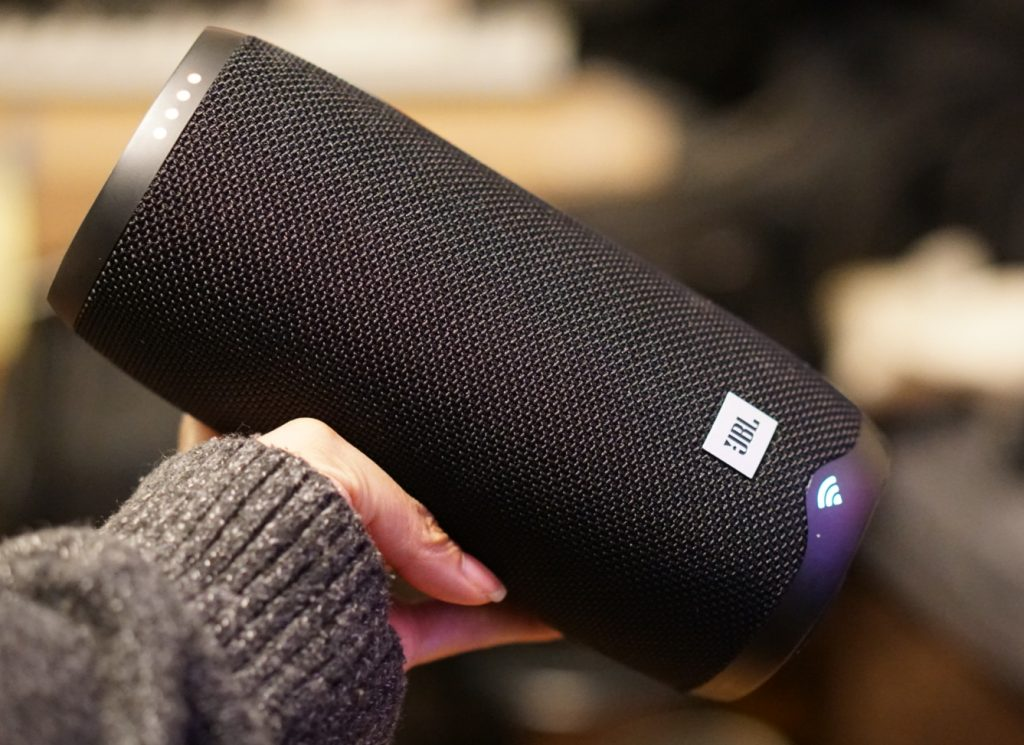 Image result for JBL Link 20 Voice Activated Portable Bluetooth Speaker