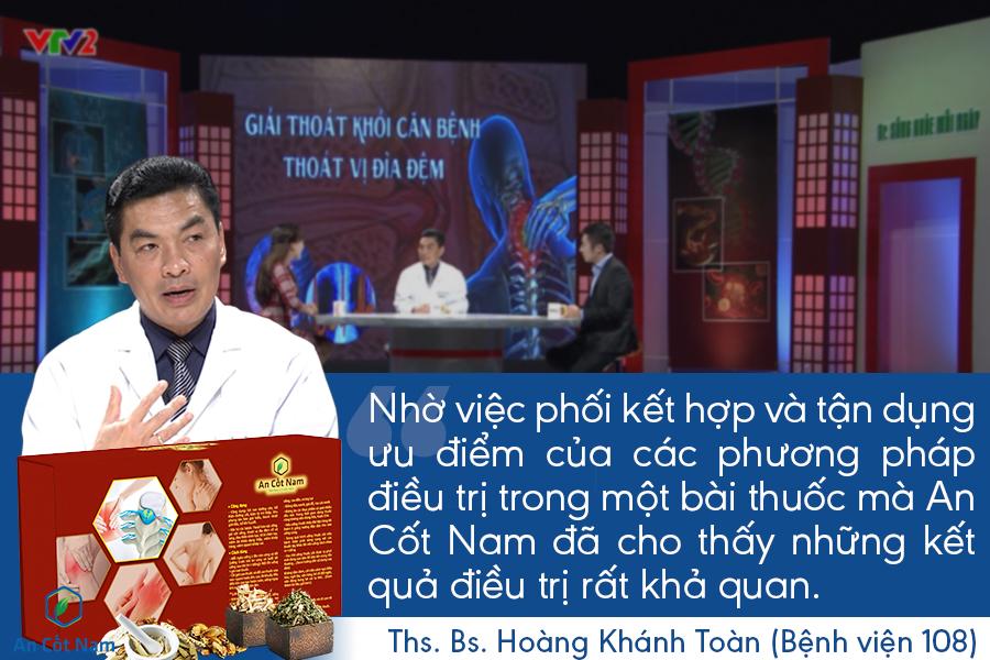 An Cốt Nam được giới thiệu trên VTV2