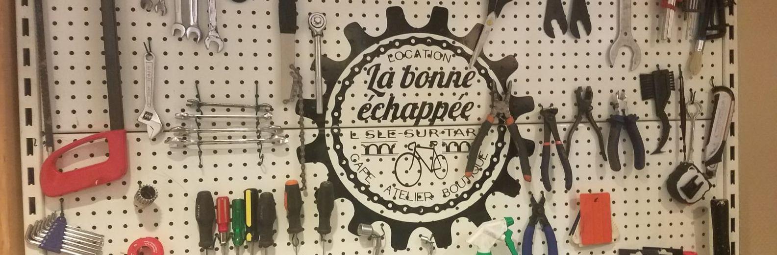 Réparation de vélos dans le Tarn