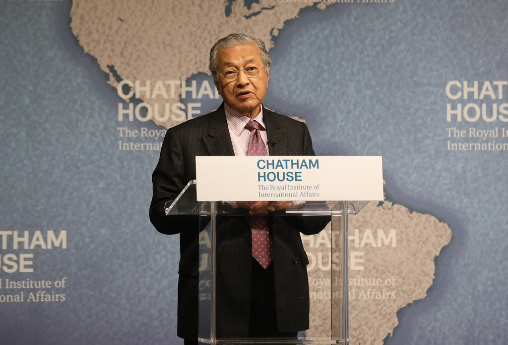 HE Dr Mahathir bin Mohamad, Prime Minister of Malaysia | Flickr