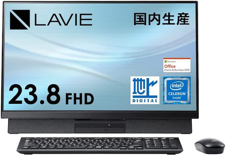 NEC 23.8型デスクトップパソコン