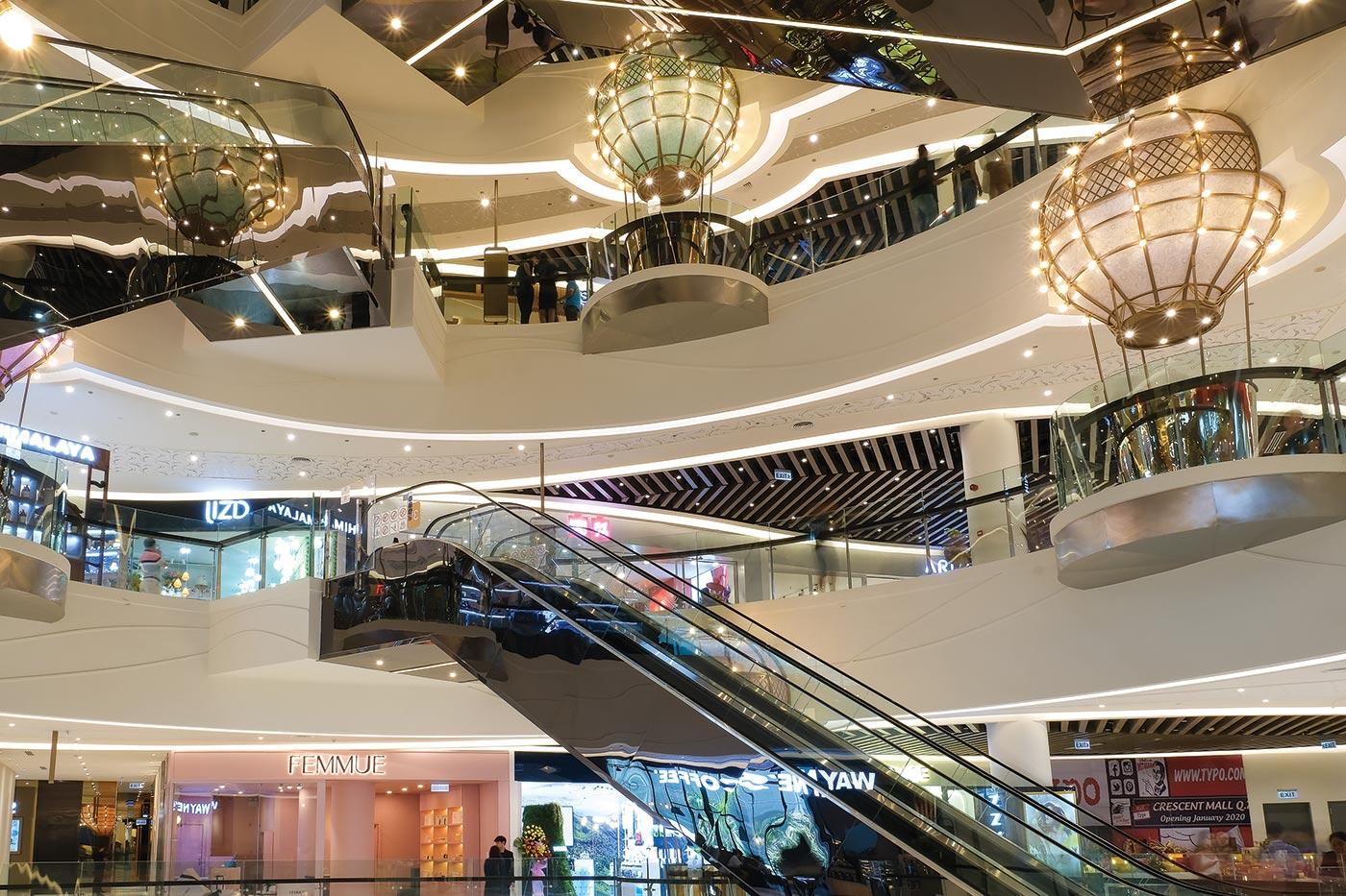 Trung tâm thương mại Phú Mỹ Hưng Thiết kế ấn tượng