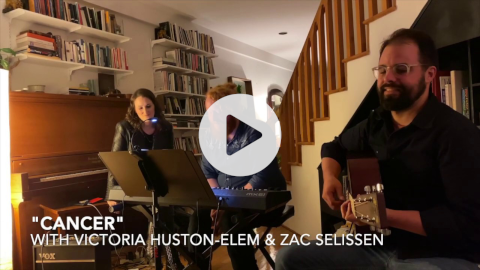 """Victoria Huston-Elem, Karl Saint Lucy, and Zac Selissen perform """"Cancer"""" from DIFFERENT STARS"""