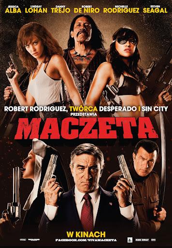 Polski plakat filmu 'Maczeta'