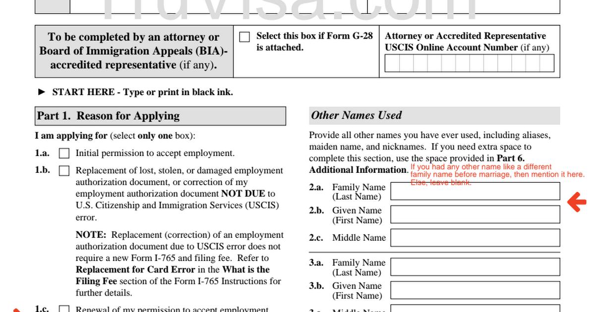 I 765 Form H4 Ead Renewal Form Truvisapdf Google Drive