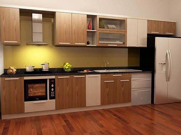 gỗ làm tủ bếp chịu nước tốt nhất