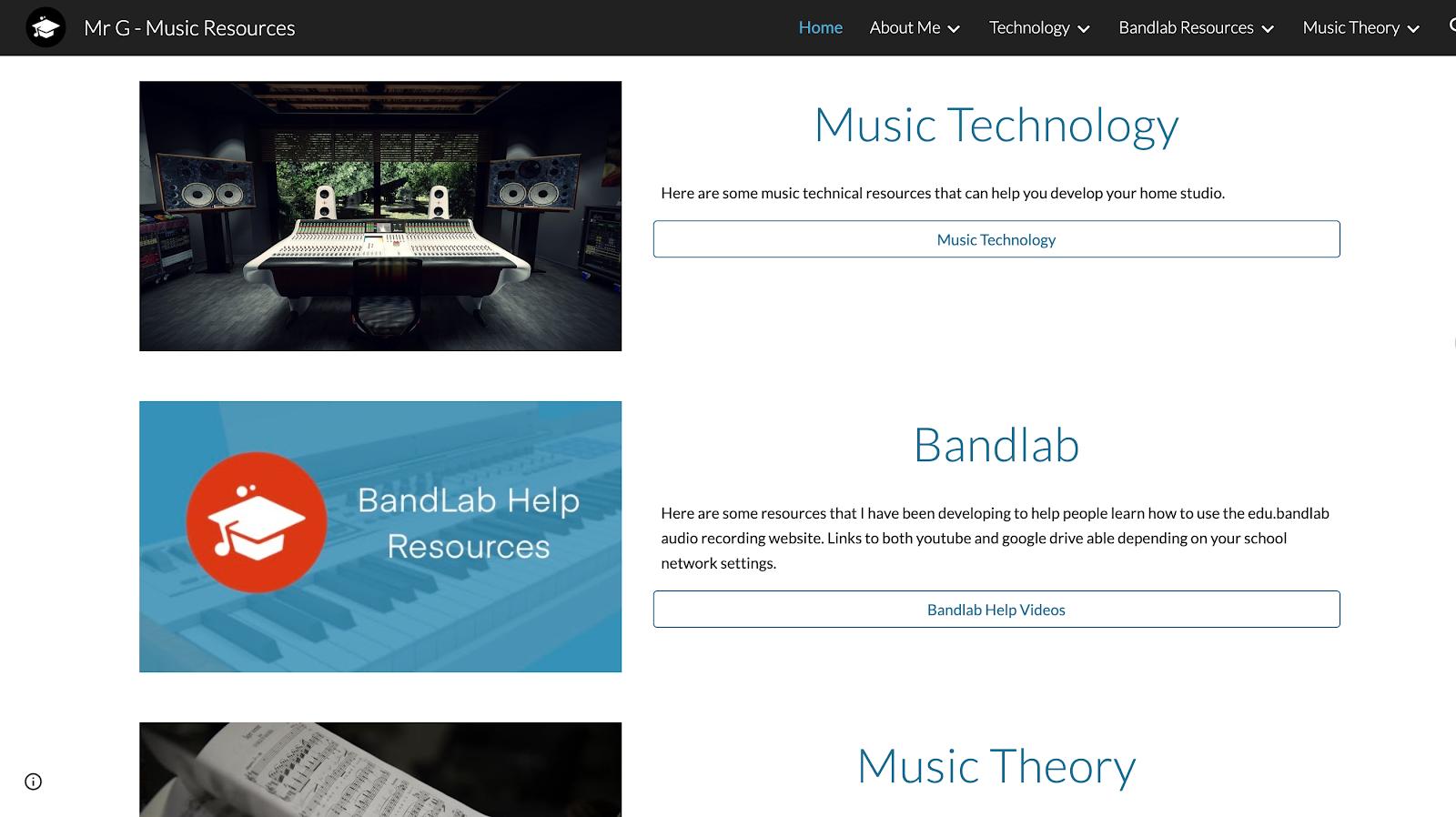Mr G - Music Resources - Google Sites