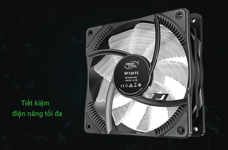 Quạt/ Fan case Deepcool RF120 FS RGB | Tiết kiệm điện năng tối đa