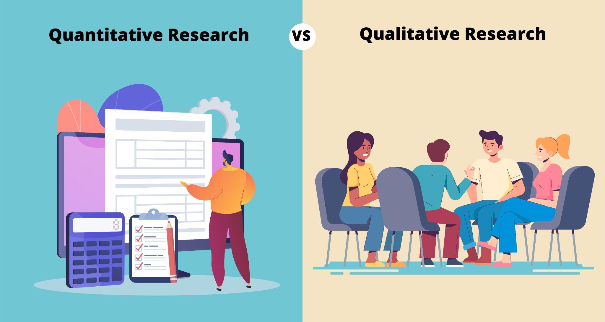 quantitative vs qualitative user research