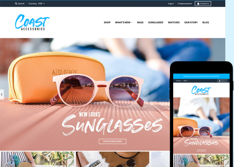 Shopify theme detector:  District - Coast style