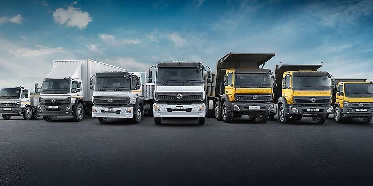 BharatBenz Trucks | Daimler Truck AG > Brands > Trucks > BharatBenz