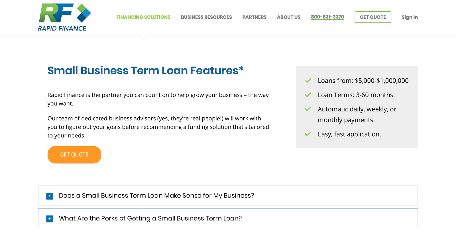 Best Small Business Loan Providers of 2019