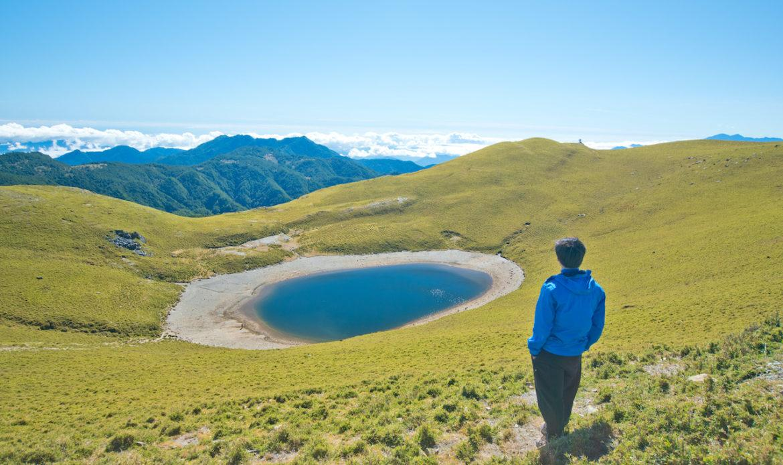 不過當看到天使的眼淚嘉明湖,整段登山行程也是畢生難忘。