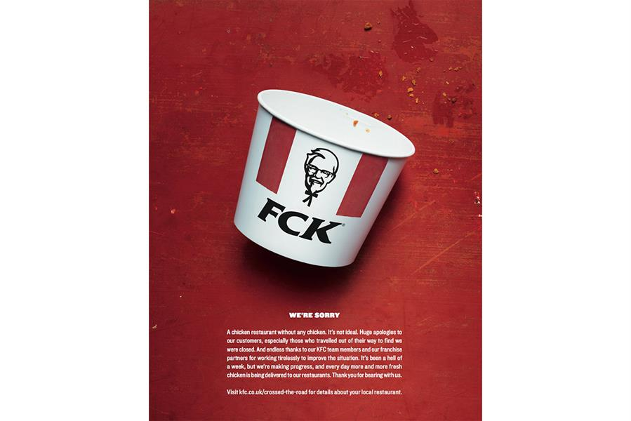 kfc no chicken apology
