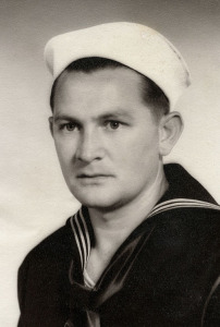 Neal Watts, 1944, during boot camp in San Diego