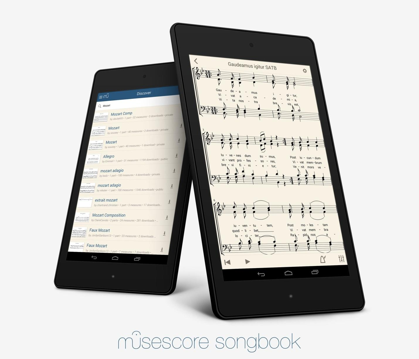 Image result for 5. MuseScore trên điện thoại