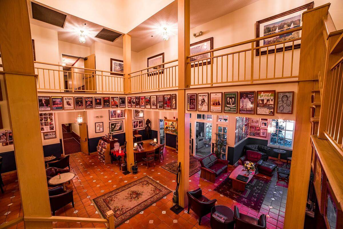 La Tourelle Lobby