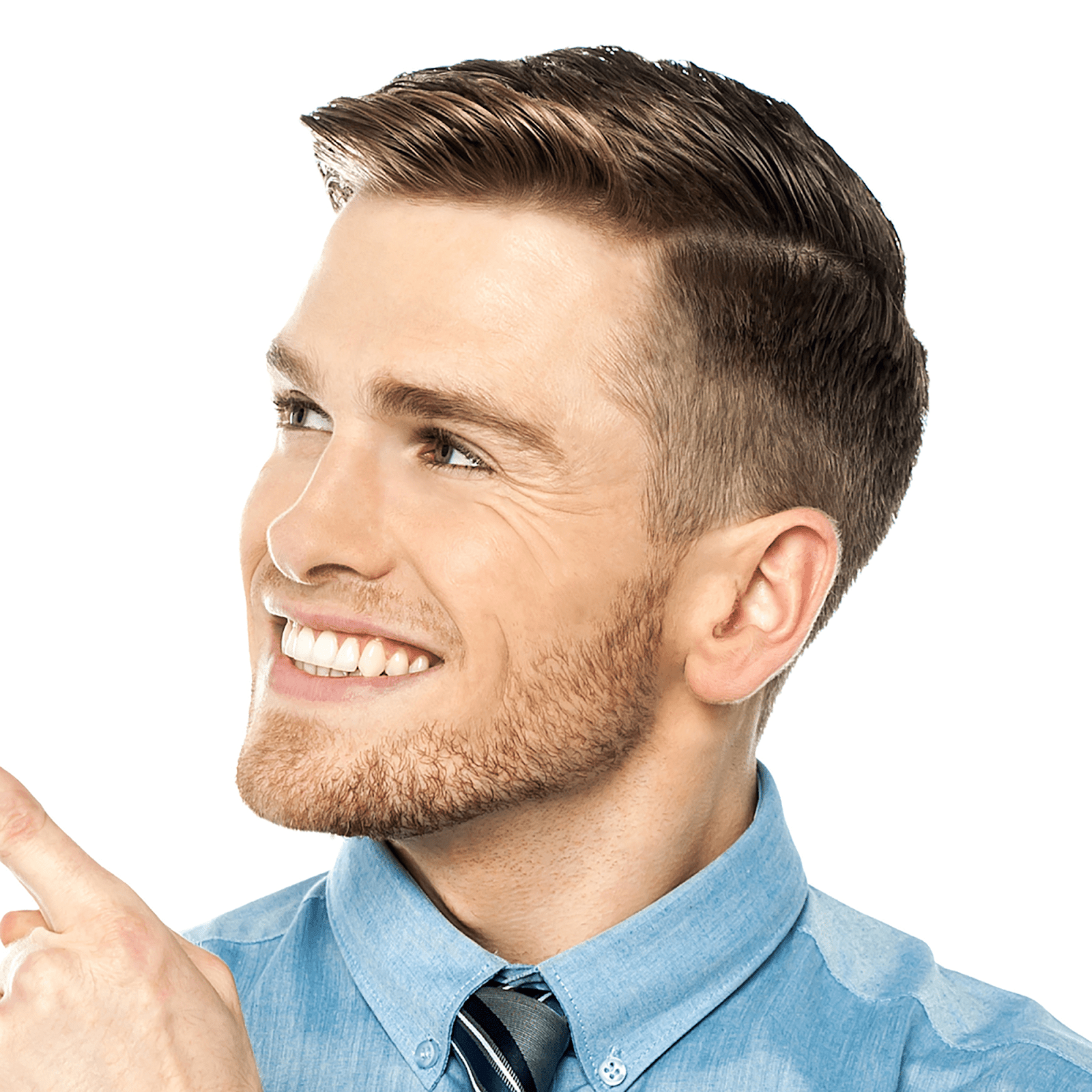 professional medium hairstyles male
