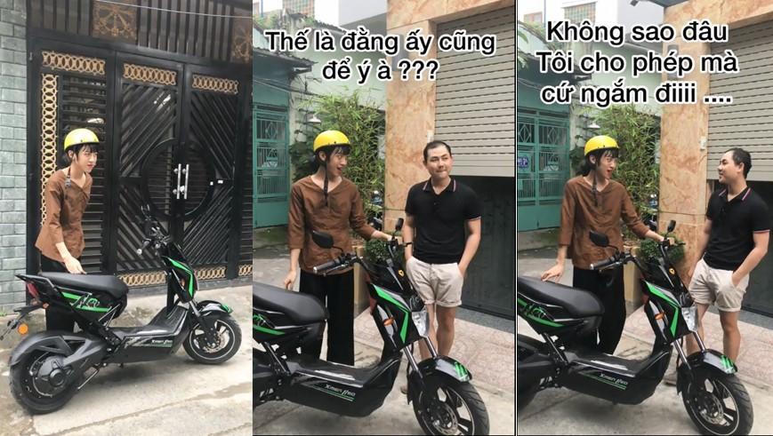 """Trào lưu khoe xe xịn đét của giới trẻ Việt """"gây bão"""" Tiktok đầu năm học mới"""