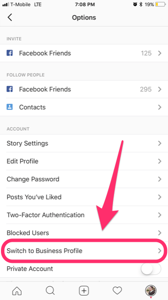 How to Switch to Instagram Business Account