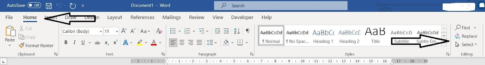 Graphical user interface, application, Word  Description automatically generated
