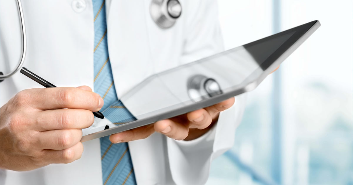 The healthcare industry has not embraced digitalization.